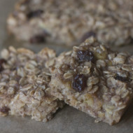 Recipe: Banana Oatmeal Breakfast Bars