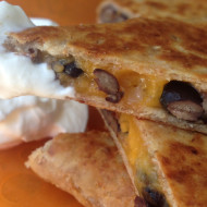 5 Ingredients Or Less: Black Bean Quesadilla