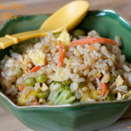 Recipe: Vegetable Stir-Fried Rice