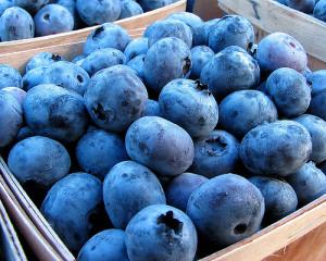 blueberries www.redkitchenette.com