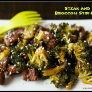Recipe: Steak and Broccoli Stir-Fry