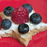 Fun Snack Idea: Patriotic Star Bites