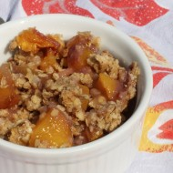 Recipe: Whole-Grain Peach Crisp