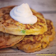 Corn and Scallion Griddle Cakes