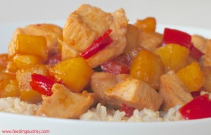 Soy-Ginger Pineapple Chicken www.redkitchenette.com