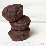 Flourless Black Bean & Chia Seed Brownie Bites