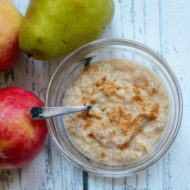 Roasted Pear Applesauce