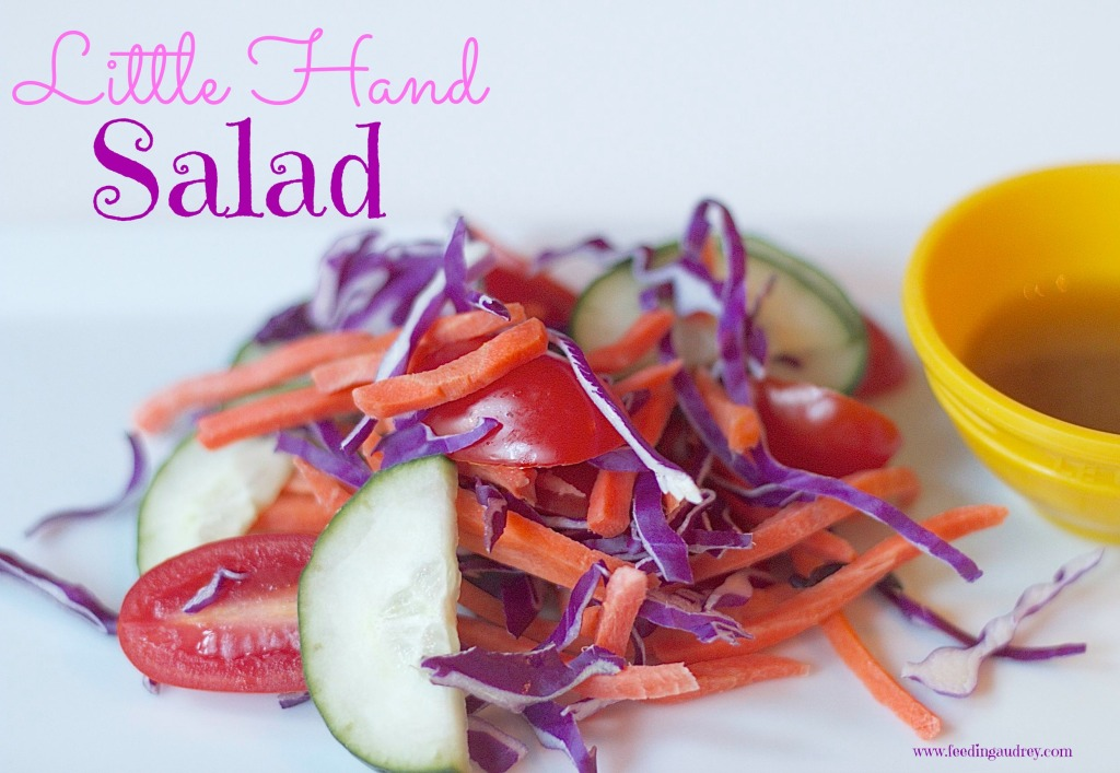 toddler salad www.redkitchenette.com