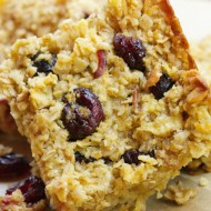 Apple-Cranberry Oat Bars