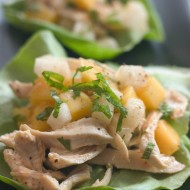 Mango-Chicken Lettuce Wraps