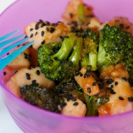 Sesame Chicken & Broccoli