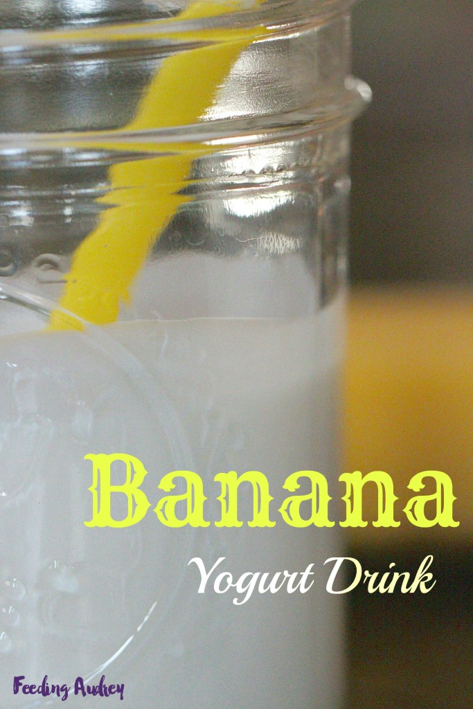 banana yogurt drink www.redkitchenette.com
