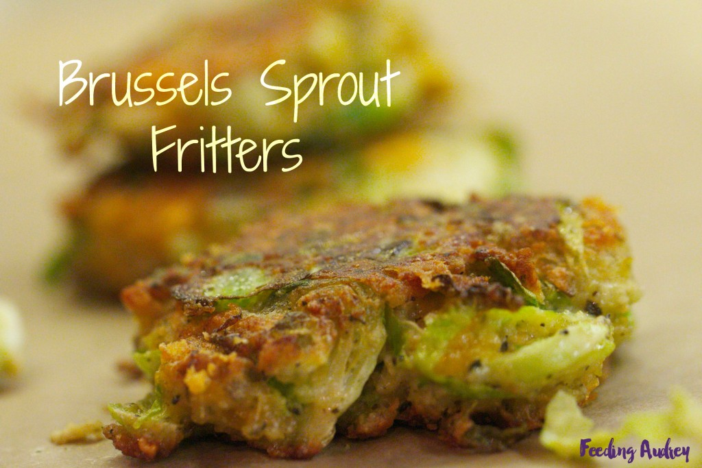 Brussels Sprout Fritters www.redkitchenette.com