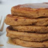 Roasted Sweet Potato & Apple Pancakes