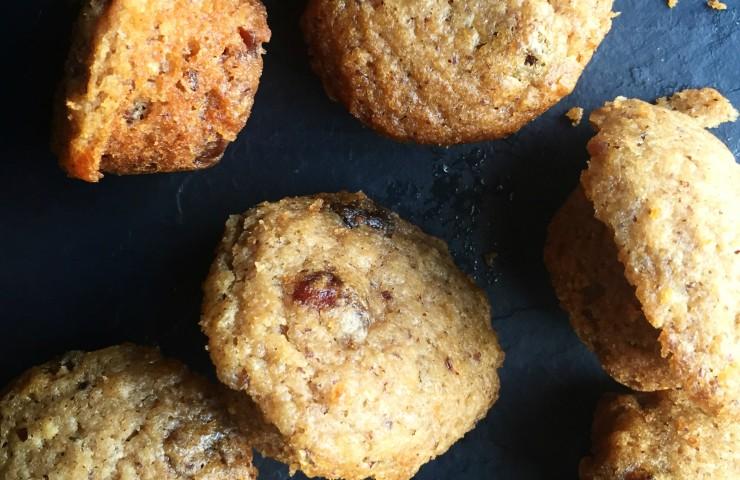 Apple-Cranberry Oatmeal Mini Muffins
