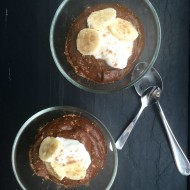 Chocolate-Avocado Pudding