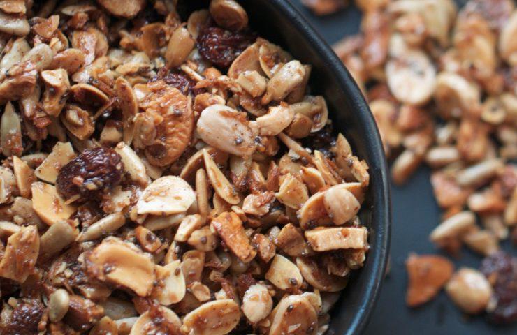 Grain-Free Cinnamon Granola