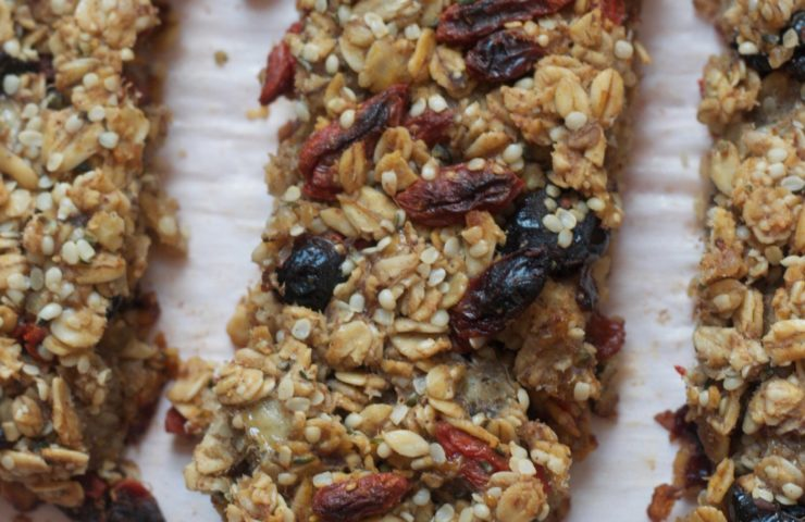 Superfood Granola Bars (V, GF)
